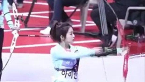 ฮือฮา ติ่งเกาหลี นักกีฬายิงธนูสุดน่ารัก เห็นแล้วเอาใจไปเลย!
