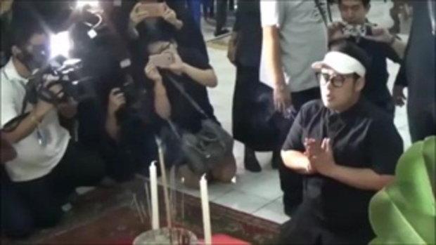 มาตามสัญญา ดีเจเชาเชา ร่วมเป็นเจ้าภาพงานศพหนุ่ม 18 ยืนเคาะโลงบอกน้องวอนอโหสิ