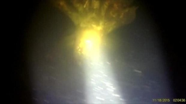 เเทบช็อค คนจับกุ้ง เจอพญานาคอยู่ใต้น้ำ เขื่อนลำพระเพลิง