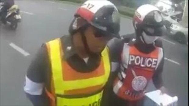 คลิปเก่าดีๆ มาตรา 14 เขาว่าไว้ยังไงคุณตำรวจ