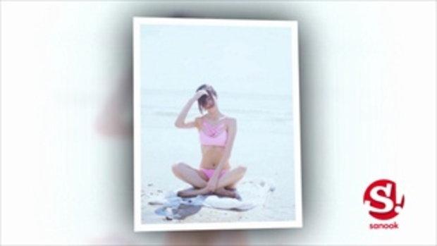 หนุ่มๆ ละลาย ยิปซี คีรติ โพสต์ชุดว่ายน้ำสีชมพูสุดเซ็กซี่