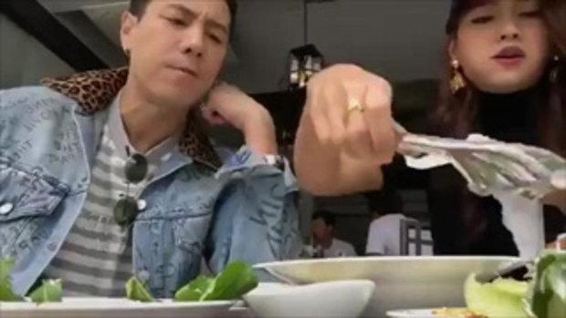 โดม สวีท เมทัล ที่เกาหลี จัดหนักอาหาร แบบไม่กลัวอ้วนเลยย