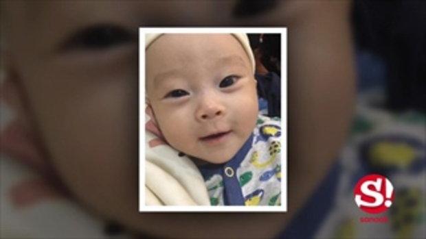ดีเจอิคคิว อุ้ม น้องอากิระ ลูกชายวัย 6 เดือนโชว์สื่อ