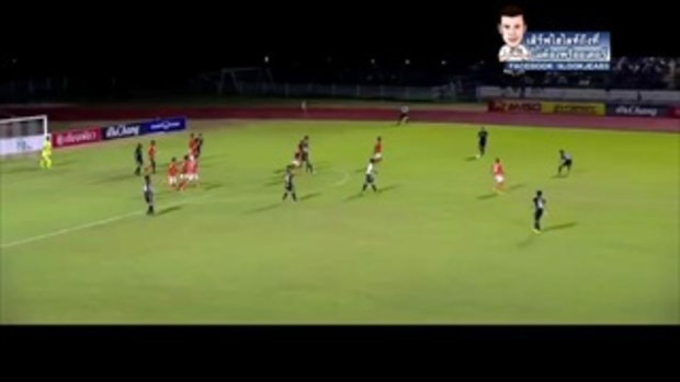 ไฮไลท์การทำประตู ฟุตบอลไทยลีก ราชนาวี เอฟซี 1-0 ราชบุรี เอฟซี - 20-05-2017