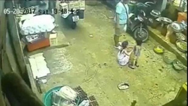 โจรใจโหด ปล้นมือถือเด็ก เร่งล่าคนร้าย