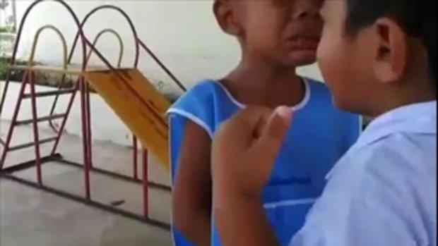 มาดู!ความน่ารักของเด็กน้อย เปิดเทอมวันแรกแบบซึ้งๆ