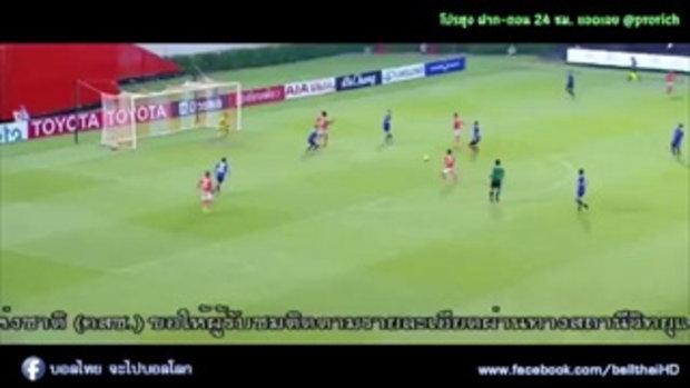ไฮไลท์การทำประตู ฟุตบอลไทยลีก ราชบุรี เอฟซี 3-2 ไทยฮอนด้า - 27-05-2017