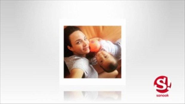 ภาพแม่ลูกผูกพัน ซอนย่า - น้องภฌา ลูกชายที่เกิดจากการอุ้มบุญ