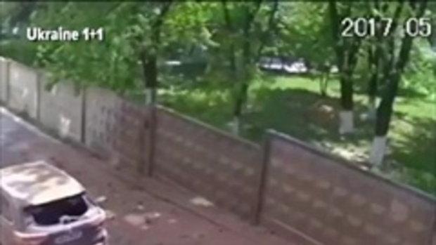 ท่อน้ำระเบิดกรุงเคียฟ ยูเครน