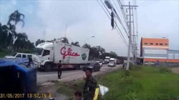 2 ตำรวจหนุ่ม จากคลิปตามไล่ล่า ซิ่งแหกด่านสุดระทึก