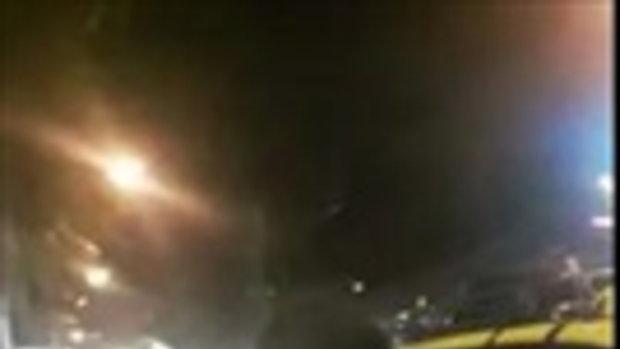 หนุ่มขับอูเบอร์ถอดเสื้อท้าชกคนขับแท็กซี่ เหตุบีบแตรใส่กัน ชลบุรี