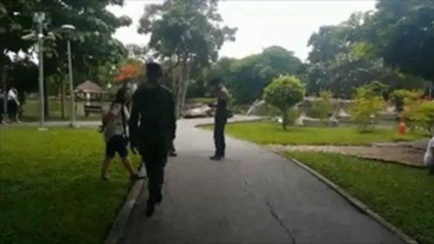 ดวงใจแม่แทบขาด! พบศพเด็กสาว 19 ปี ลอยเปลือยกลางสระน้ำสวนสาธารณะ