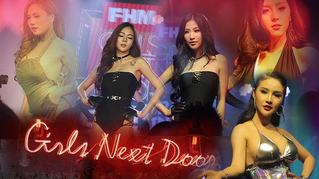 ปาร์ตี้สุดเซ็กซี่ FHM GIRLS NEXT DOOR 2017