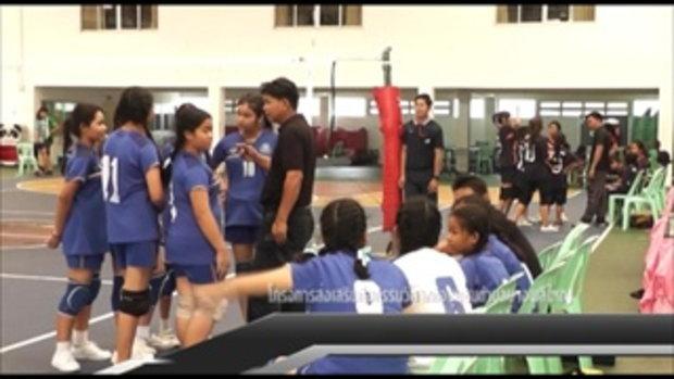 Sakorn News : โรงเรียนวัดบางพลีใหญ่ใน ร่วมแข่งขัน บางปู วอลเลย์บอล ในรุ่น 12 ปีหญิง