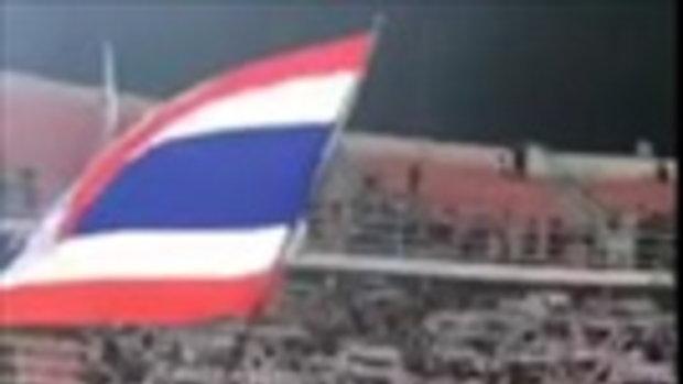แข้งช้างศึก! เดินขอบคุณแฟนบอล หลังจบเกม ทีมชาติไทย พบ สหรัฐอาหรับเอมิเรตส์ ศึกฟุตบอลโลก