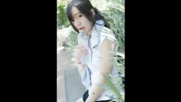 น้องใบเฟิร์น สาวน่ารักตาโต สไตล์สาวญี่ปุ่น กับชุดออกกำลังกายชิลๆ