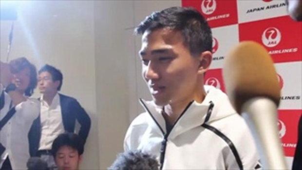 สัมภาษณ์ เมสซี่ เจ ที่สนามบินญี่ปุ่น