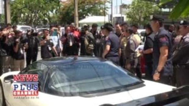 191ร่วม ตำรวจท่องเที่ยว จับแก๊งรับจำนำรถเถื่อน รวบ24ผู้ต้องหา