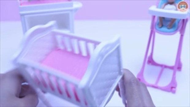 รีวิวตุ๊กตาบาร์บี้ แม่ลูกอ่อน ตุ๊กตาเด็กทารก ฉี่ได้ด้วย ฺBarbie Doll Toy Review