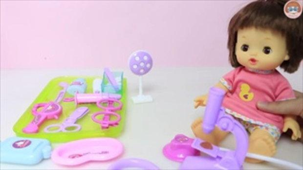 ละครสั้น คุณป้าหมอเปิดคลีนิครักษาคนไข้ เจ้าหญิง รีวิวชุดของเล่นคุณหมอ Doctor Kit And Princess Doll