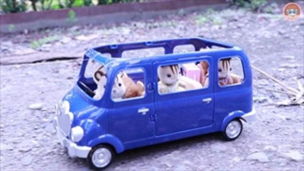 ไปเที่ยวกันเถอะ ละครซิลวาเนียน แฟมิลี่ รีวิวรถของครอบครัวกระรอกวอลนัท Sylvanian Families