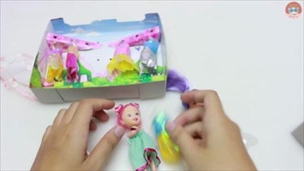 รีวิวตุ๊กตาบาร์บี้ เด็กน่ารัก เพื่อนใหม่องุ่น Barbie Doll Toy Review
