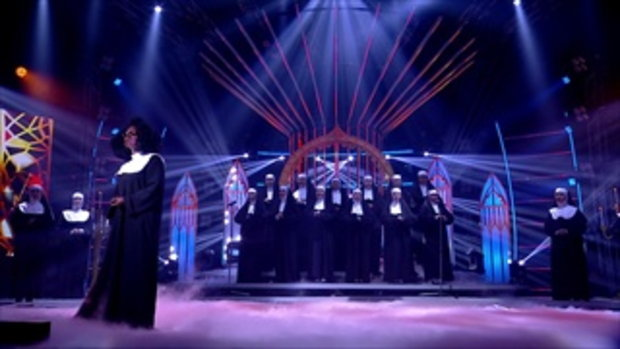 Whoopi Goldberg - I will follow him | S3 ซัน | Sing Your Face Off 3 | 1 ก.ค. 60