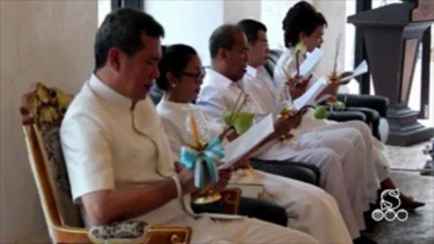 Sakorn News : ประชาชนร่วมเวียนเทียน