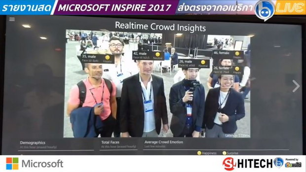 วันสุดท้ายซะแล้ว Microsoft Inspire 2017 กับ 'คิว เตมี' พร้อมชม...