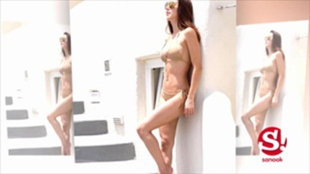 ตาค้าง! ส่องชุดเที่ยวกรีซ ของ ไอซ์ อภิษฏา เซ็กซี่กินขาด
