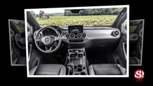Mercedes-Benz X-Class 2017 กระบะเบนซ์เปิดตัวอย่างเป็นการแล้ว