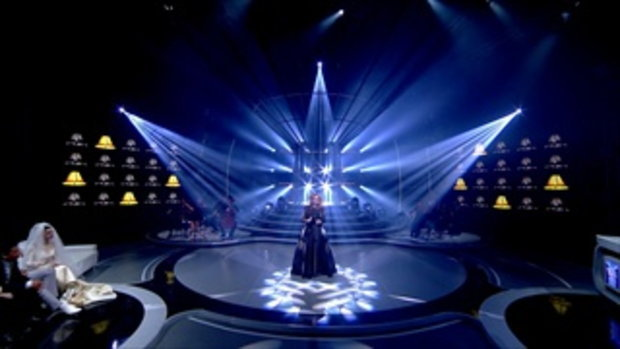 Adele - Rolling in the Deep | S1 กอล์ฟ | Sing Your Face Off 3 | 22 ก.ค. 60
