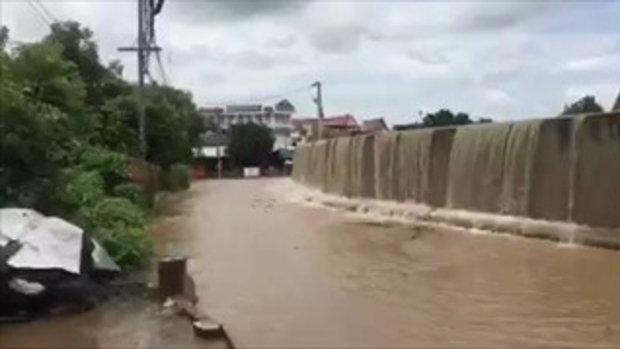 แม่น้ำยมล้น! ท่วมรอบเมืองสุโขทัย
