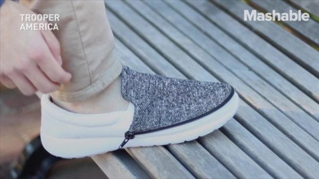 รองเท้าแห่งอนาคต มีแค่คู่เดียวก็เพียงพอ