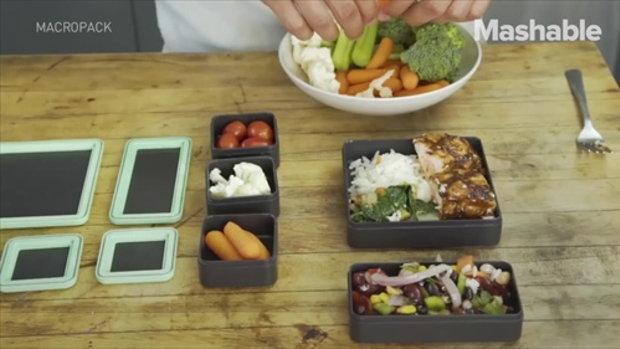 กล่องใส่อาหารกลางวันที่ช่วยคุมปริมาณแคลอรี่