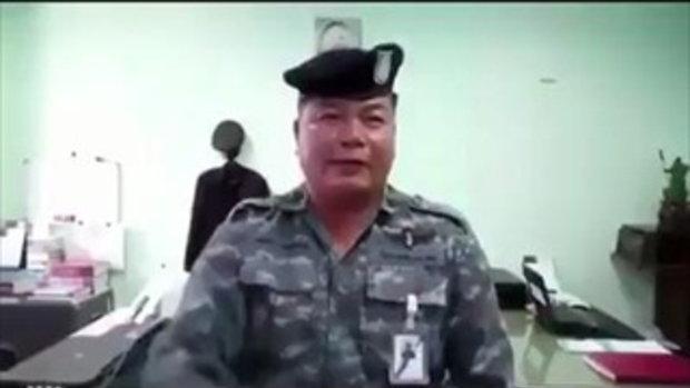 ฟังคำแก้ตัว เอ้ย!! คำอธิบายของพี่จ่าทหารอากาศ ชักปืนขู่ 'ปู-พงษ์สิทธิ์'