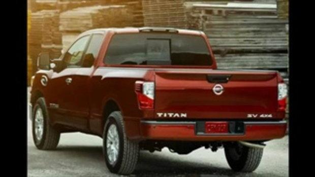 Nissan Titan SV King Cab 2017