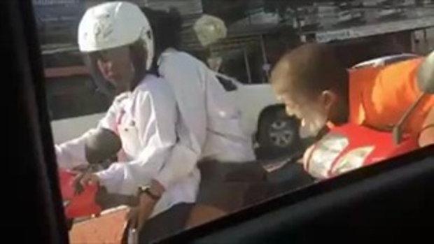 วิธีจีบสาว เวอร์ชั่น อดใจไม่ไหว เมื่อเจอสาวถูกใจบนถนน