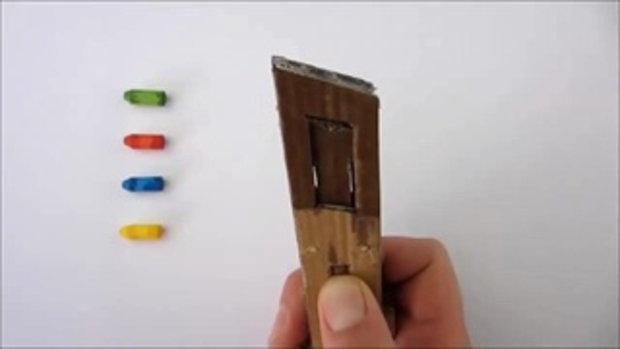 วิธีการทำปืนของเล่นกระดาษ ยิงกระสุนได้ เจ๋ง ๆ