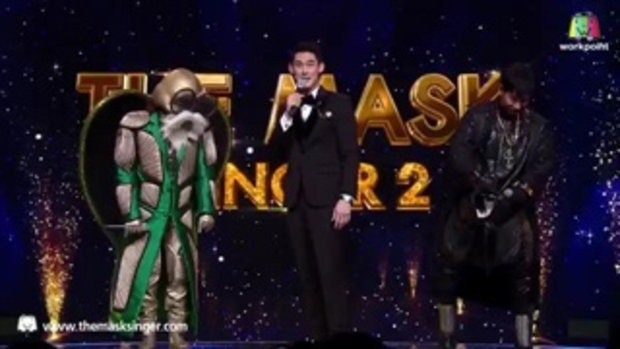 พี่หอยโชว์ภาษาเกาหลี - The Mask Singer 2