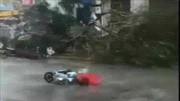 เก็บตกพายุฮาโตะ ถล่มHongkong macau...รุนแรงขนาดไหน
