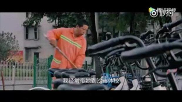 พ่อชาวจีน 7 ปีกินบะหมี่ 2 ตัน เพื่อลูกสาวฝันเป็นนักยิมนาสติก