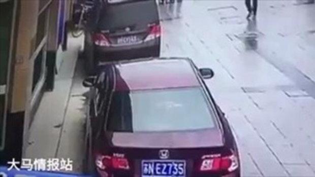 เตือนภัย! ลงจากรถ..เช็คประตูทุกบาน