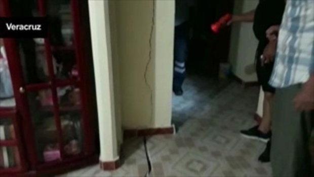 เปิดภาพความเสียหาย แผ่นดินไหว 8.2 เม็กซิโก ยอดตายพุ่ง
