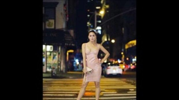 เจนี่ เทียนโพธิ์สุวรรณ แฟชั่นที่นิวยอร์กแซ่บมาก สวมชุดเดรสรัดรูปโชว์หุ่นฟิต ลุคนี้ต้องให้