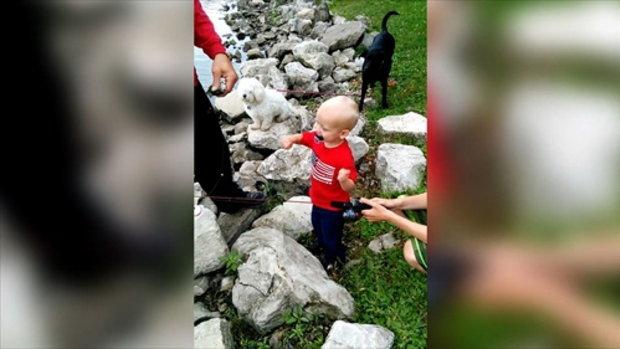 เมื่อการตกปลาเป็นเรื่องง่าย ๆ สำหรับเด็ก