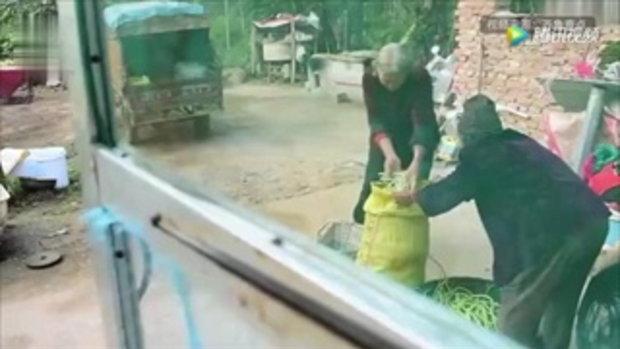 คุณยายวัย 74 สู้ชีวิต หาบผัก 30 กิโลฯขายหาเงินใช้หนี้แทนลูก