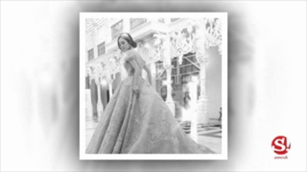 ขวัญ อุษามณี ใส่ชุดหรูเว้าอกลึก สวยสง่าดุจเจ้าหญิง