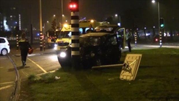 เผยคลิปสถานที่เกิดเหตุช่วงหลัง ''แท็กซี่'' ที่ ''อเกวโร่ ''นั่งมานั้นประสบอุบัติเหตุ