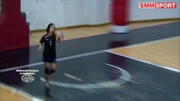 Volleyball Corner : โค้ชเอ็ม อยากได้ ''อไลซ่า วัลเดซ' เพิ่มมิติเกมบุกนครนนท์